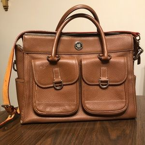 Dooney and Bourke Double Pocket Tote